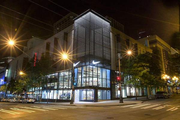 Redesigned Nike Store Shines in the Emerald City