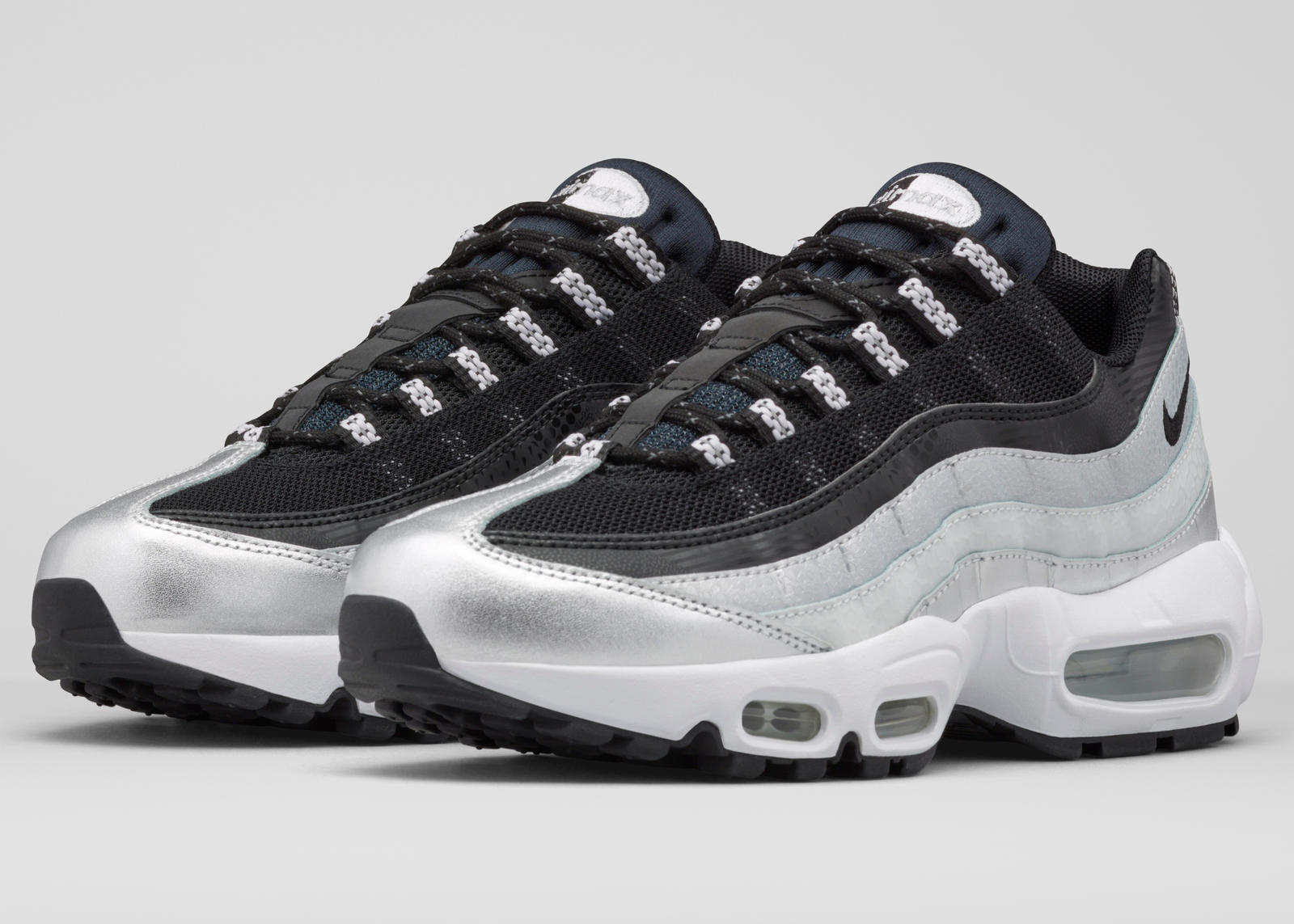 Nike Air Max 95 Premium Blue Sneakers 538416 401 Caliroots