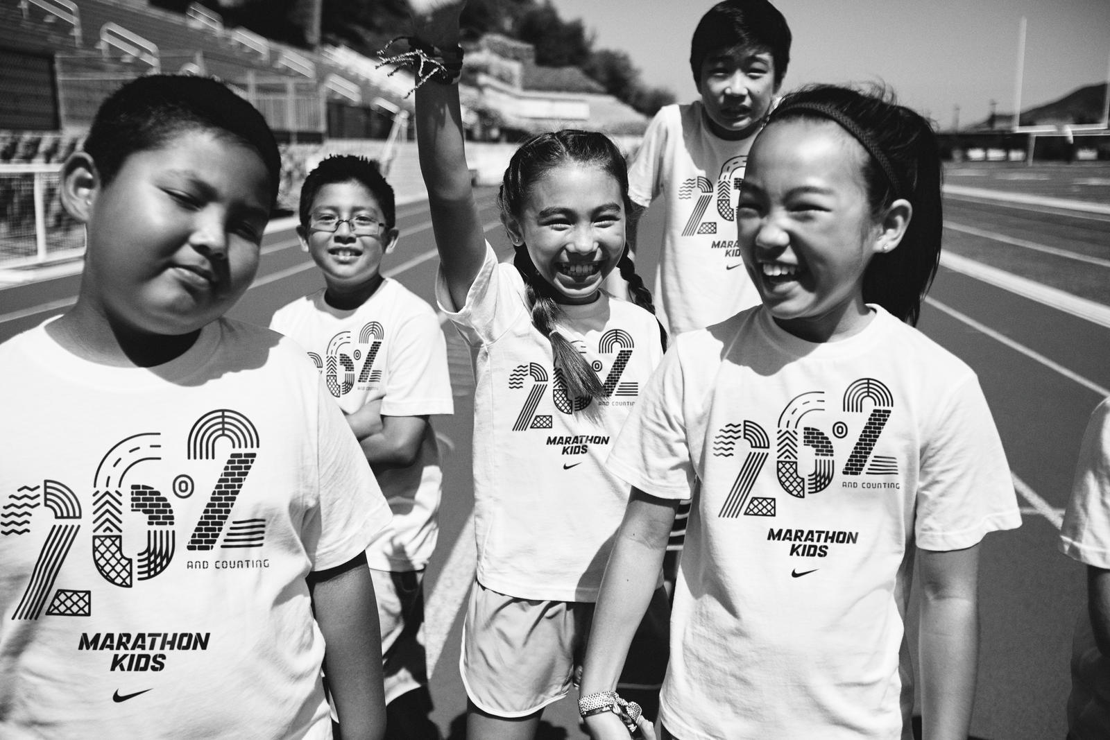 Kids Run The World Nike Partners With Marathon Kids