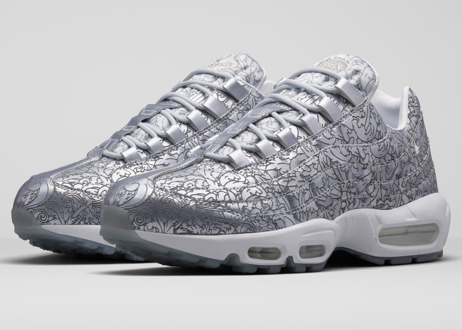 hot sale online c30bd a58e6 Already Platinum  The Air Max 95 s 20th Anniversary Style