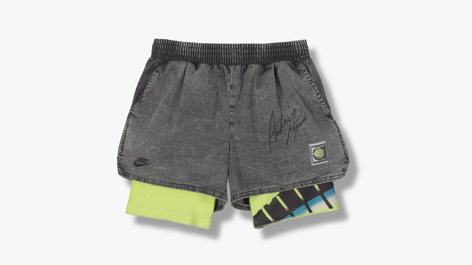 The History Of Nike Tennis News Coup Women Classic Short Pant Grey