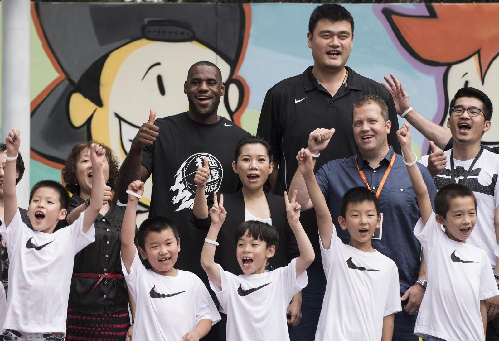 Lebron James Nike China Tour 06