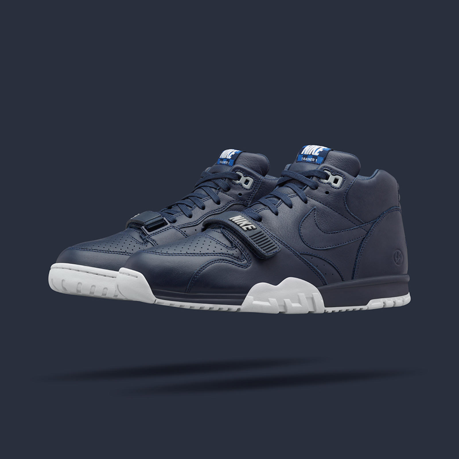 Old Glory's Allure: NikeCourt Air Trainer 1 Mid x fragment