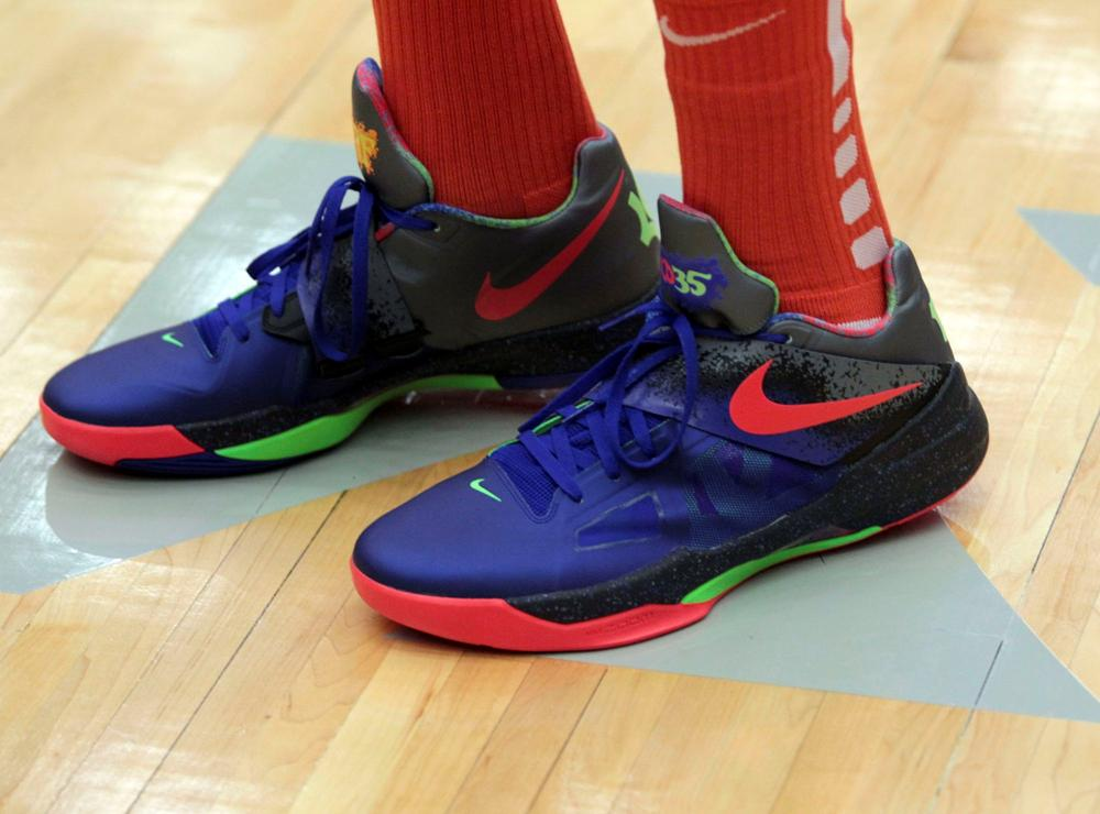 Kevin Durant Unveils New Nike Zoom KDIV Nerf Edition