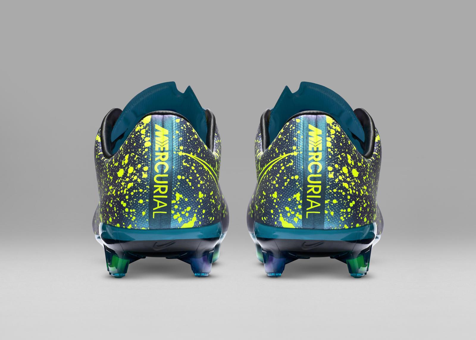 Nike Football Soccer Electro Flare Mercurial Vapor F Prem