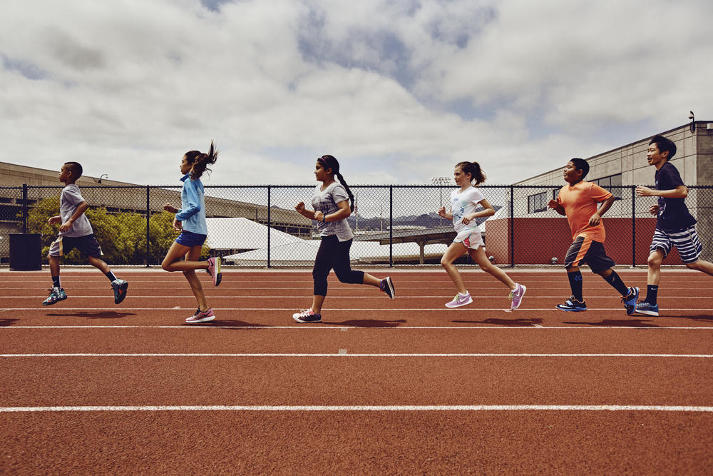 Nike+ Runners Get the Next Generation Moving