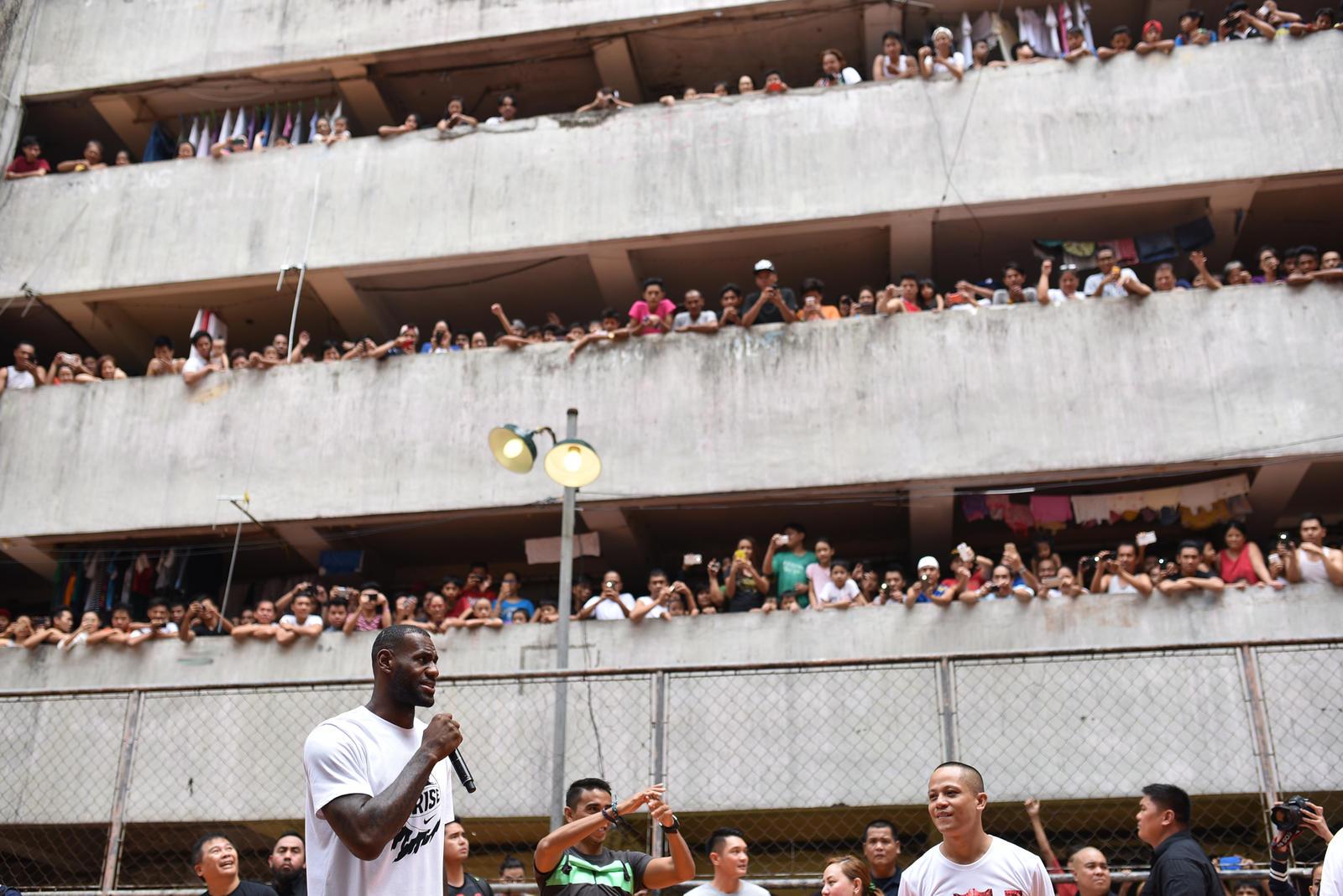 Lebron James Nike China Tour 09
