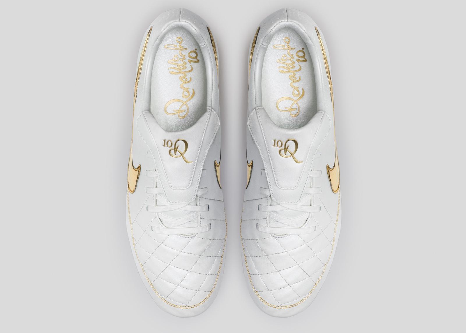 Nike Football Ronaldino Tiempo Gold Top Original Porto