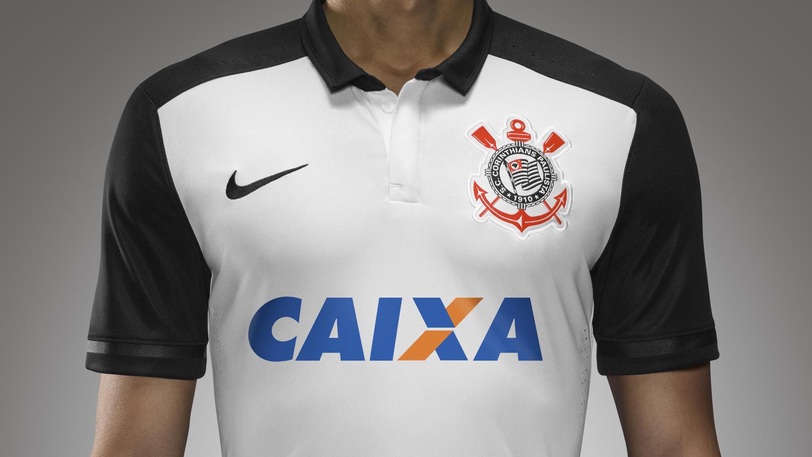 Corinthians 2015- 16 Home Kit