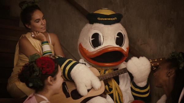 oregon News. A Little Bit Louder Now...Nike Shouts for the Ducks