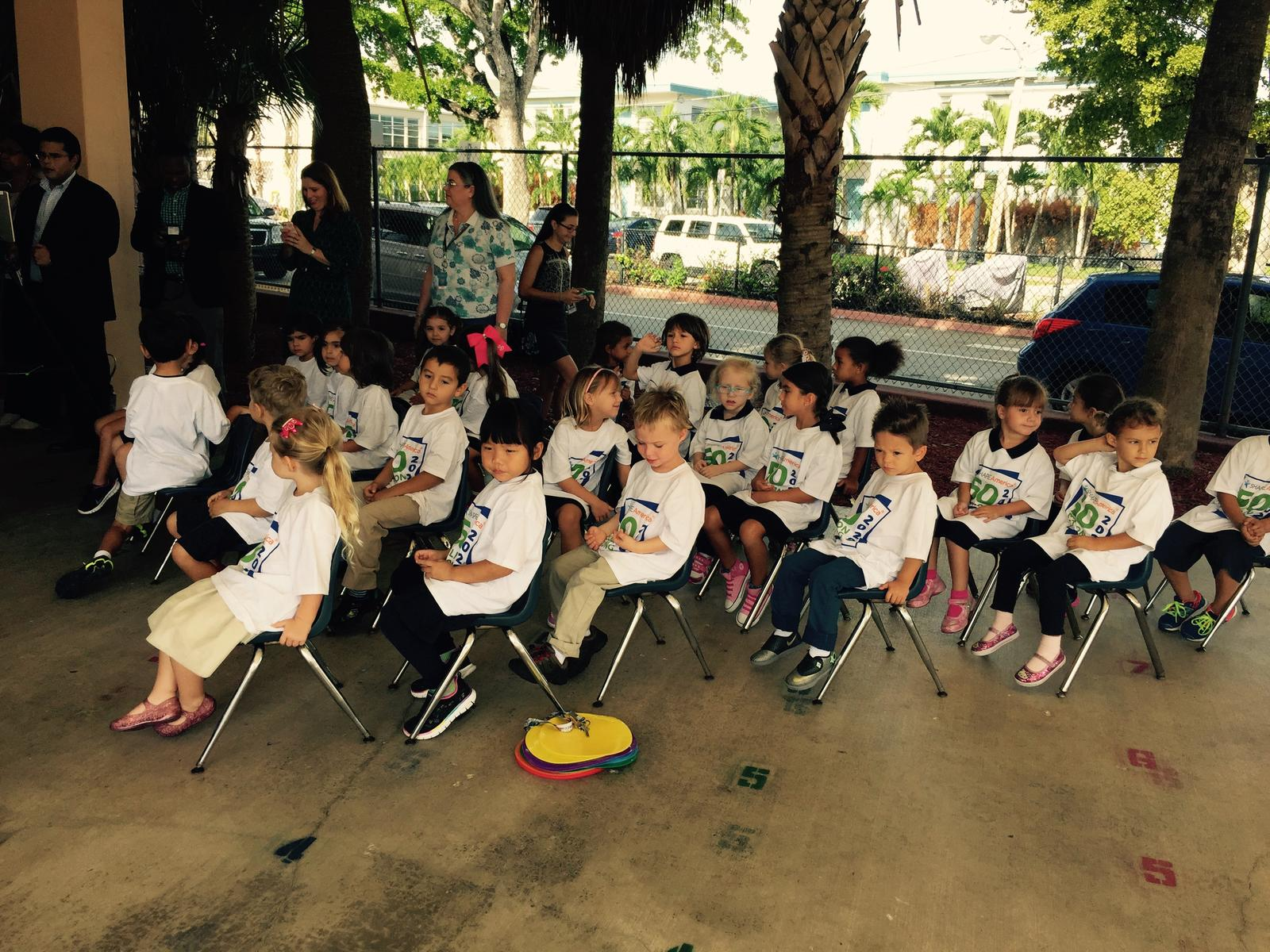 Preschool students from Miami-Dade County