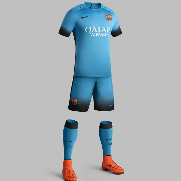 Ho15 Club Kits 3rd Jersey Pr Full Body Barcelona R Original