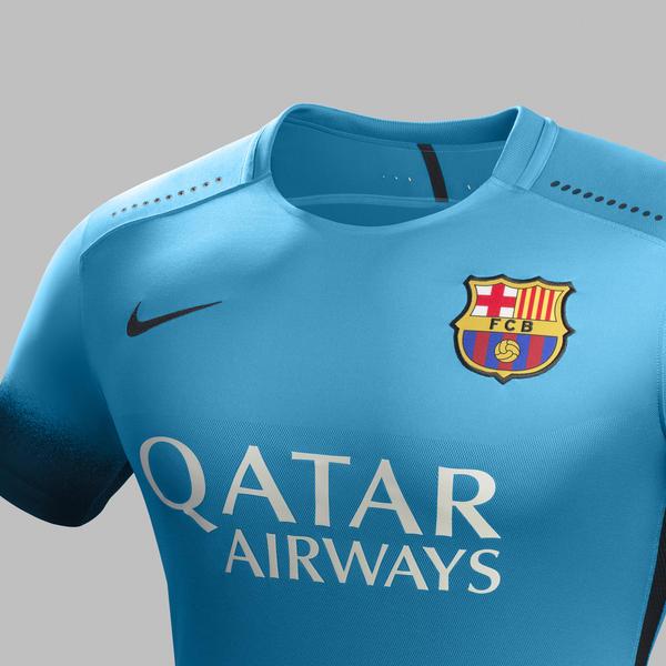 Ho15 Club Kits 3rd Jersey Pr Crest Barcelona R Original