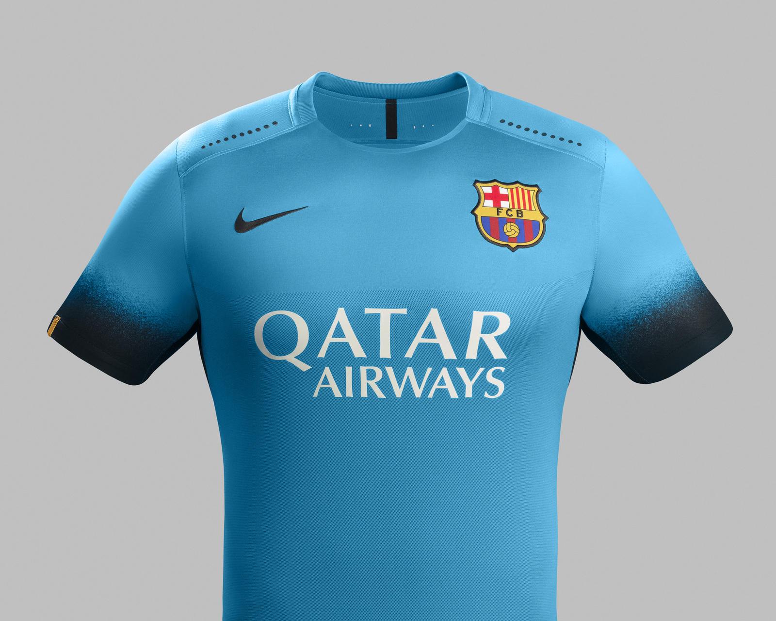 Ho15 Club Kits 3rd Jersey Pr Front Barcelona R Original