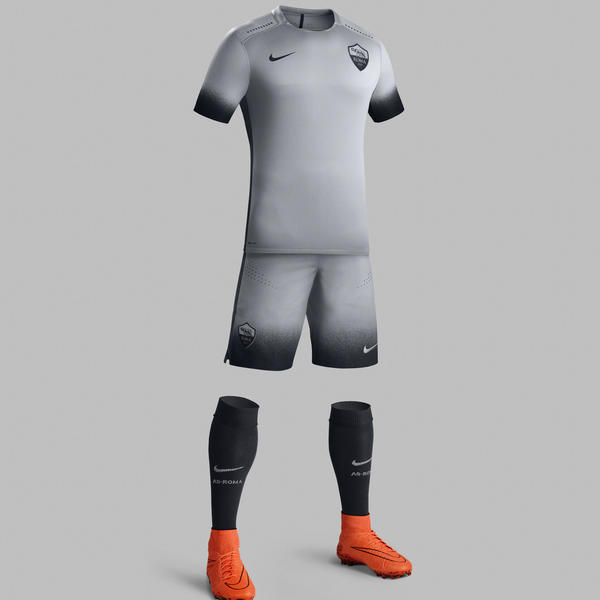 Ho15 Club Kits Jersey Pr Full Body As Roma R Original