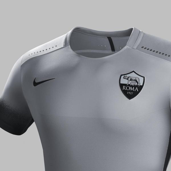 Ho15 Club Kits Jersey Pr Crest As Roma R Original