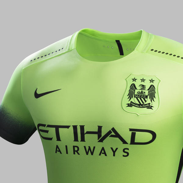 new concept 89ddd 26df7 Striking Green Creates Bold Look for Manchester City - Nike News