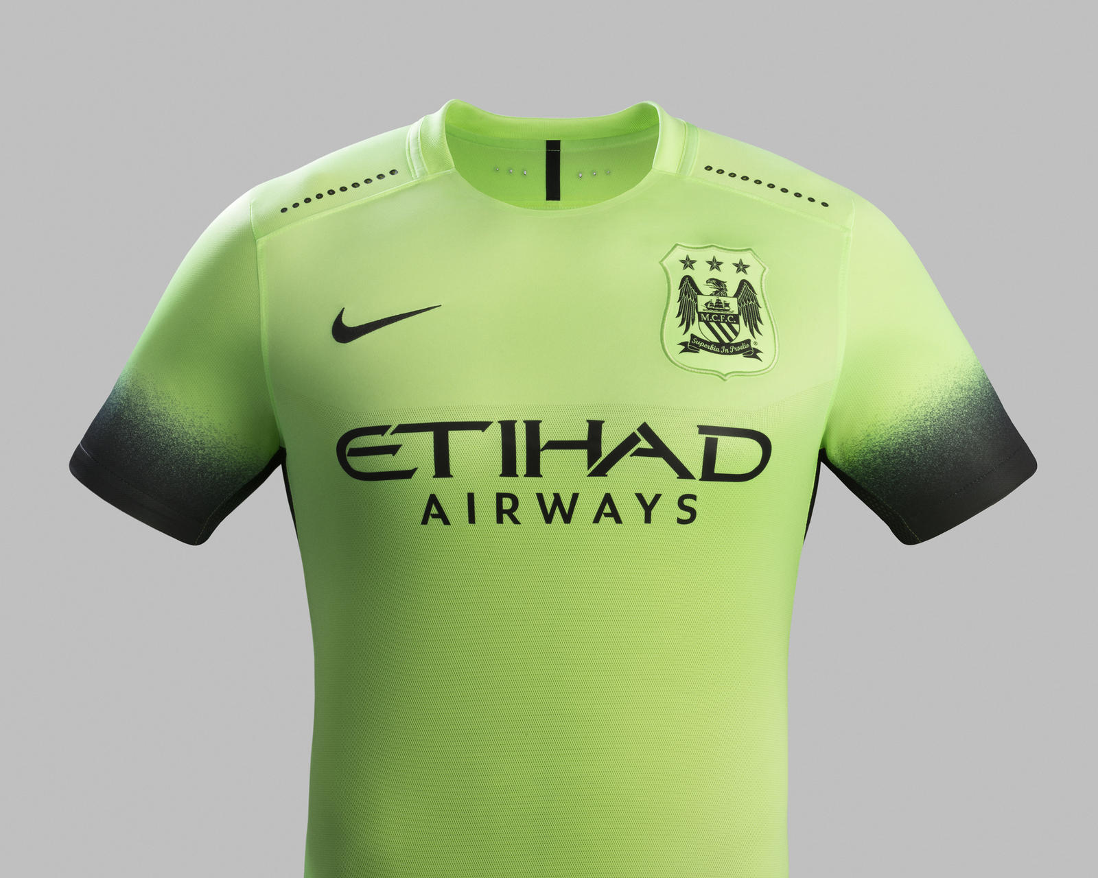 new concept 4f075 26ef6 Striking Green Creates Bold Look for Manchester City - Nike News