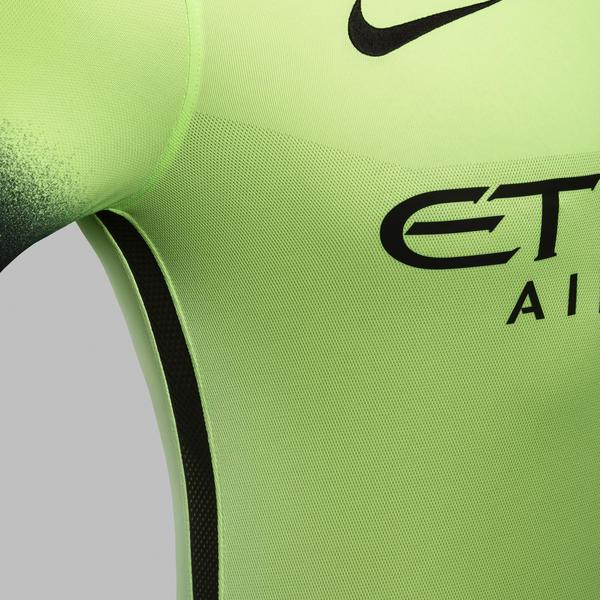Ho15 Club Kits 3rd Jersey Pr Venting Manchester City R Original