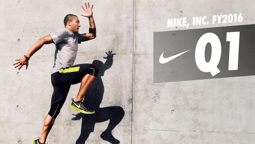 NIKE, INC. Reports Fiscal 2016 First Quarter Results