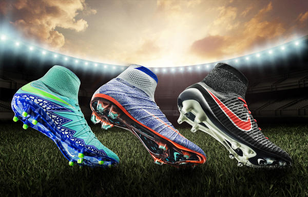 NIKE SOCCER UNVEILS ALL-NEW WOMEN'S CLEAT PACK FOR 2016