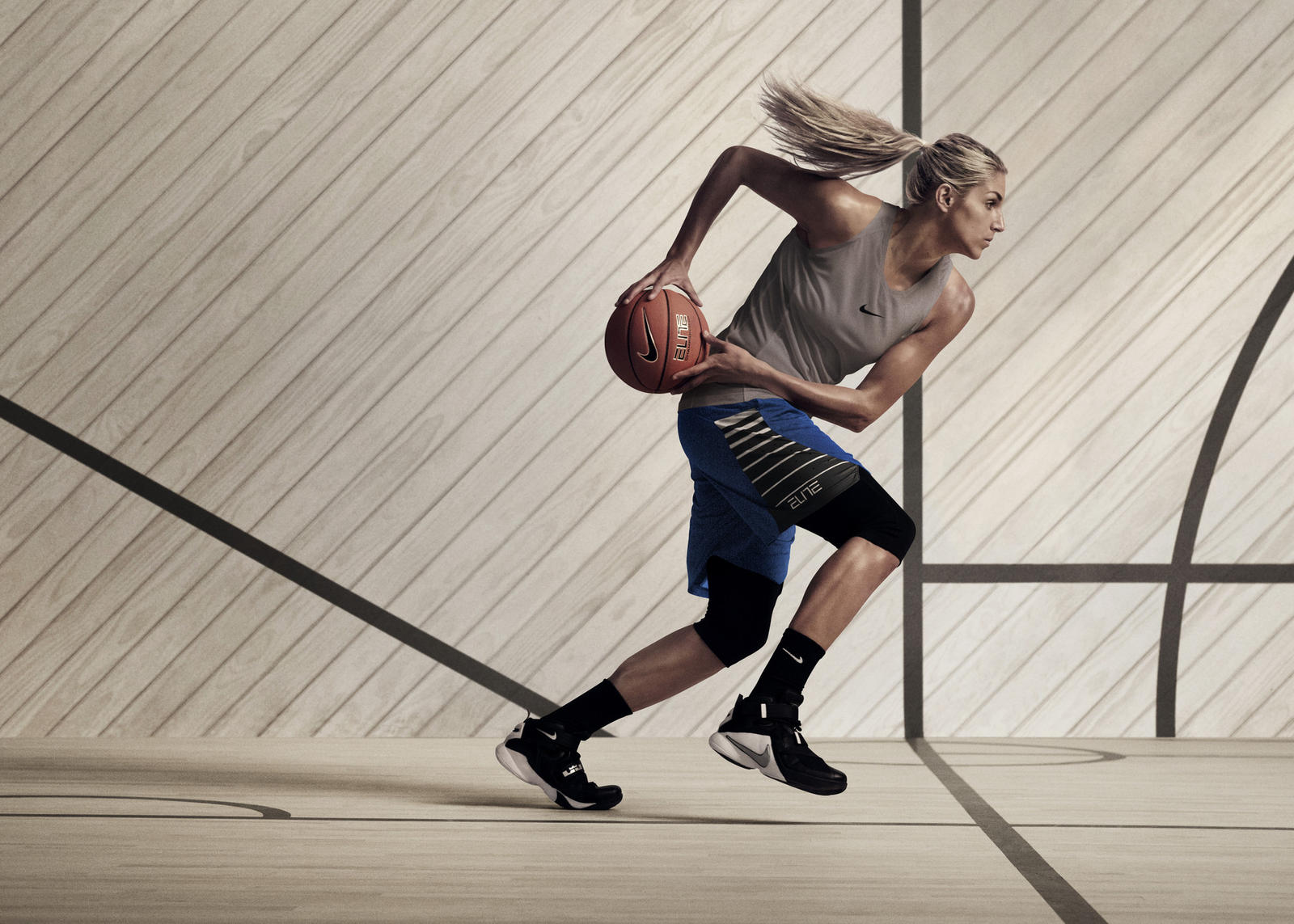 Nike Women's Basketball on-court