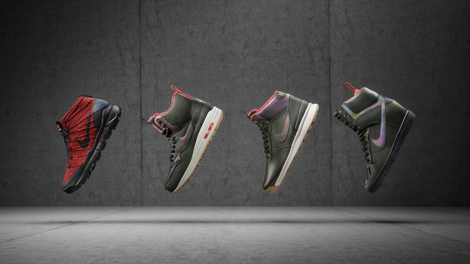 The Nike SneakerBoots Holiday 2015