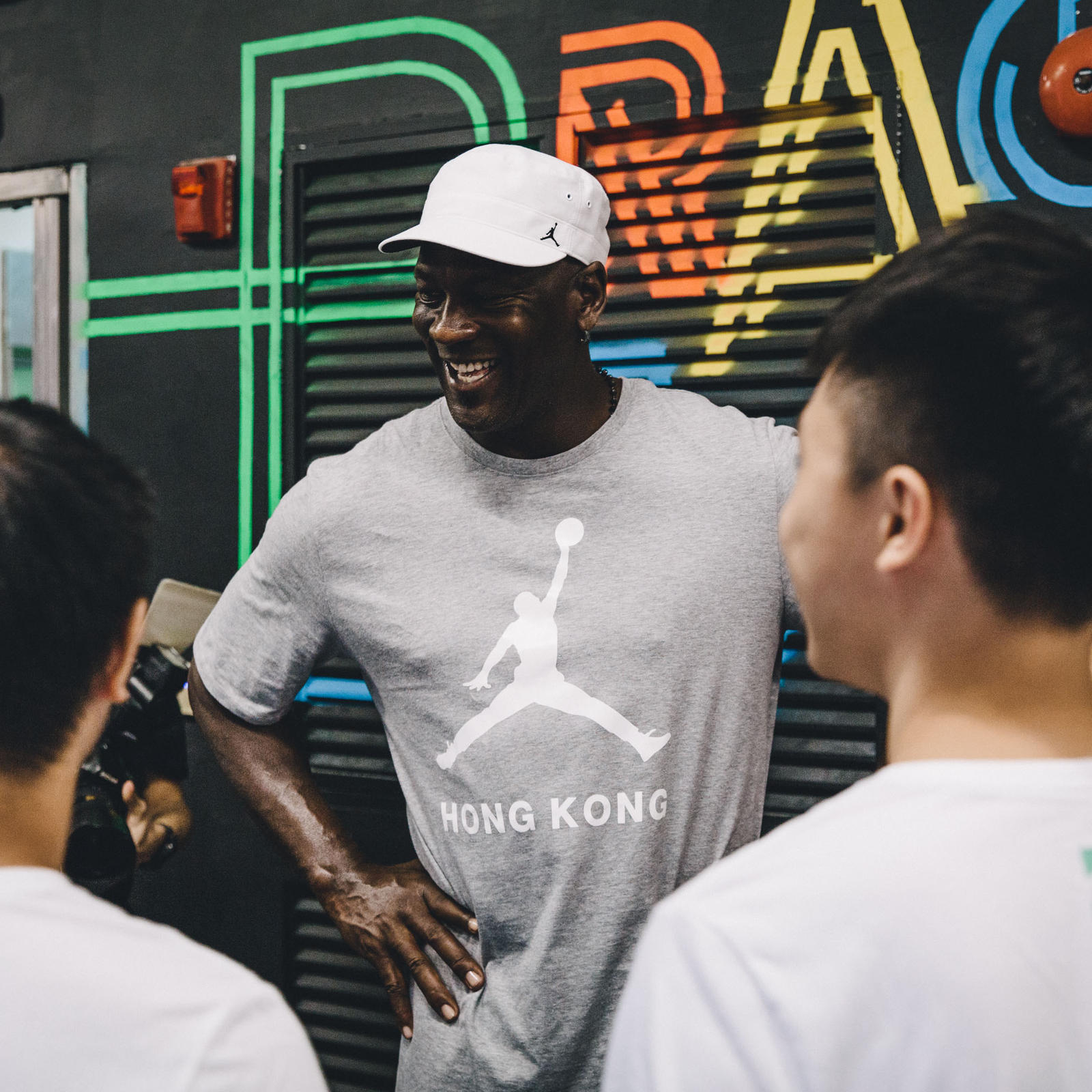 Jordan Wings Event in Hong Kong