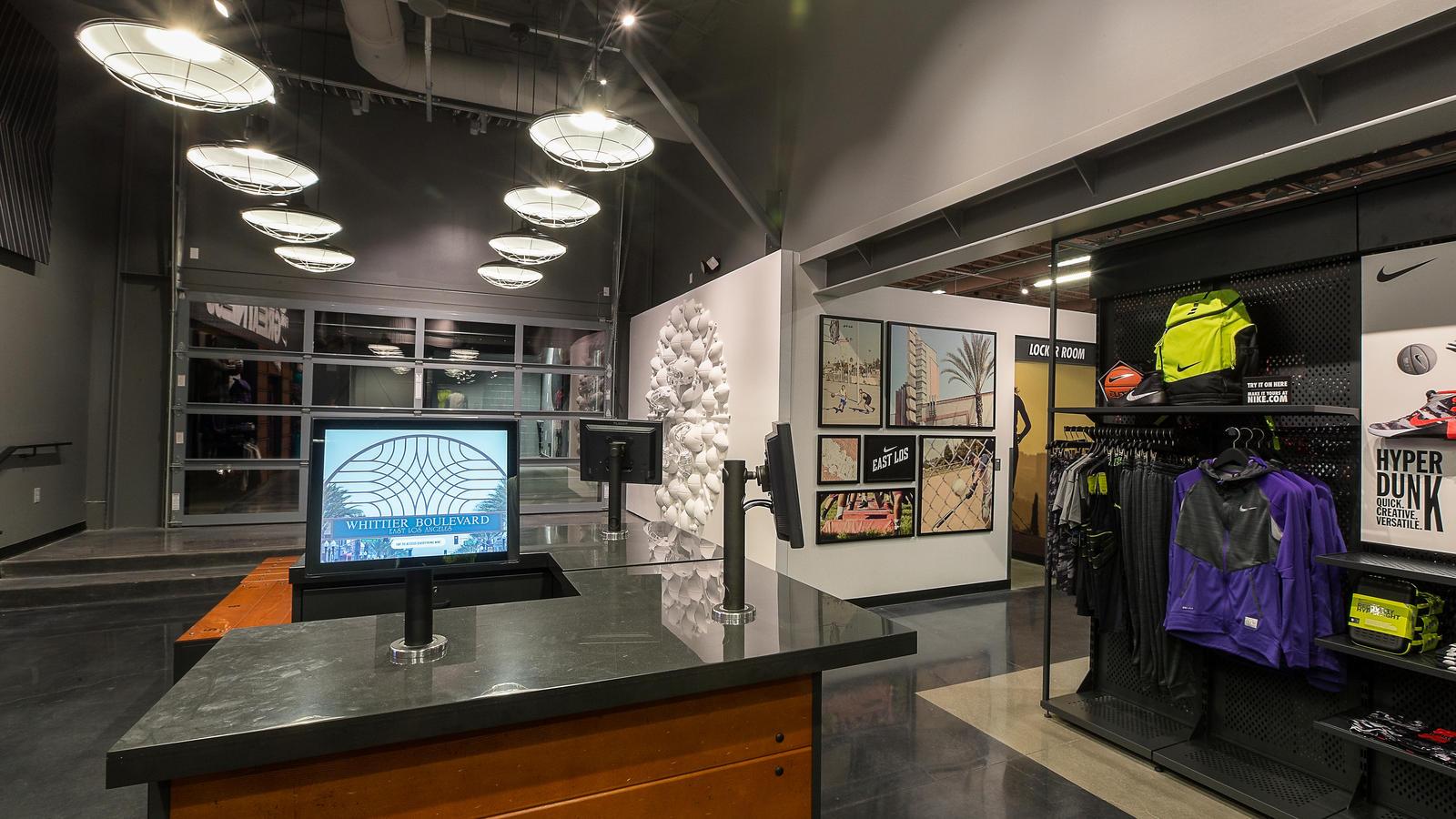 Nike East Los_showroom