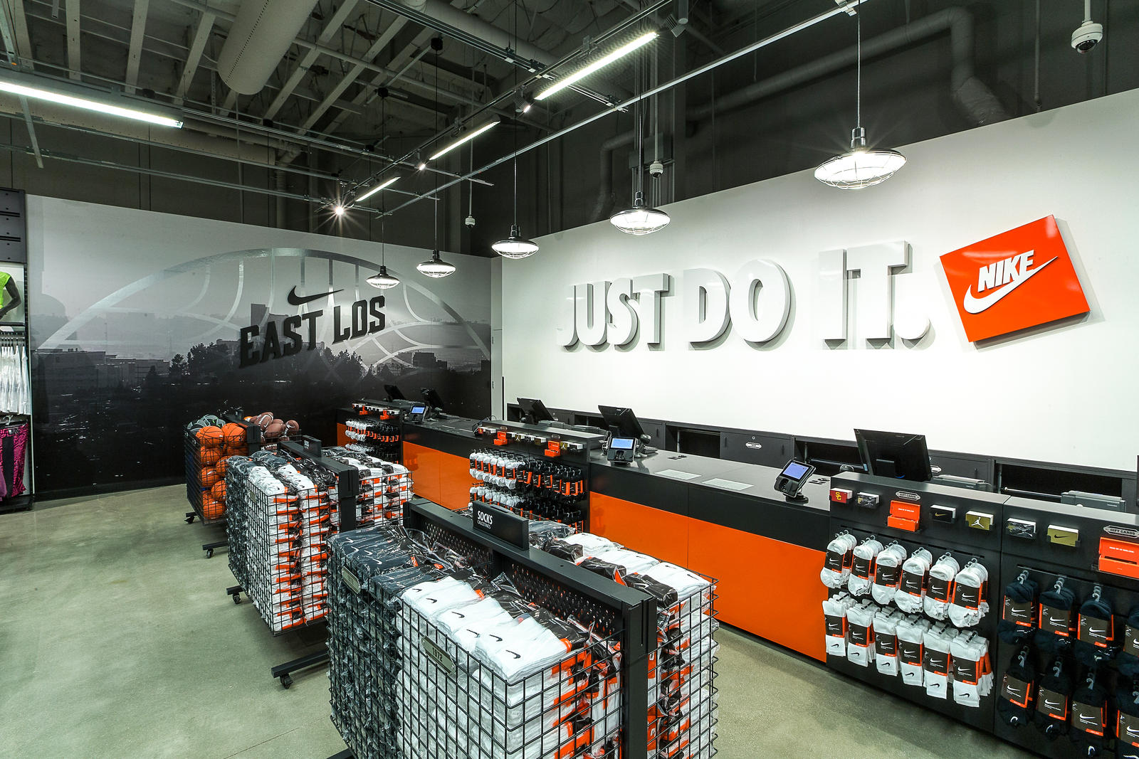 Nike's New East Los Community Store Ignites Sport and ...