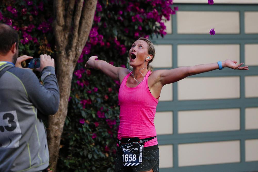 Nike Women's San Francisco Half Marathon 2015