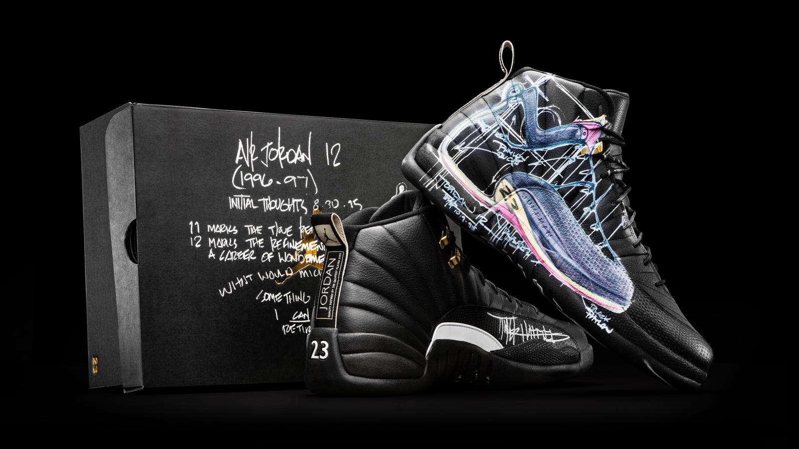 2499d33d8d4 Nike Donates a Dozen Exclusively Designed Jordan XII to OHSU ...