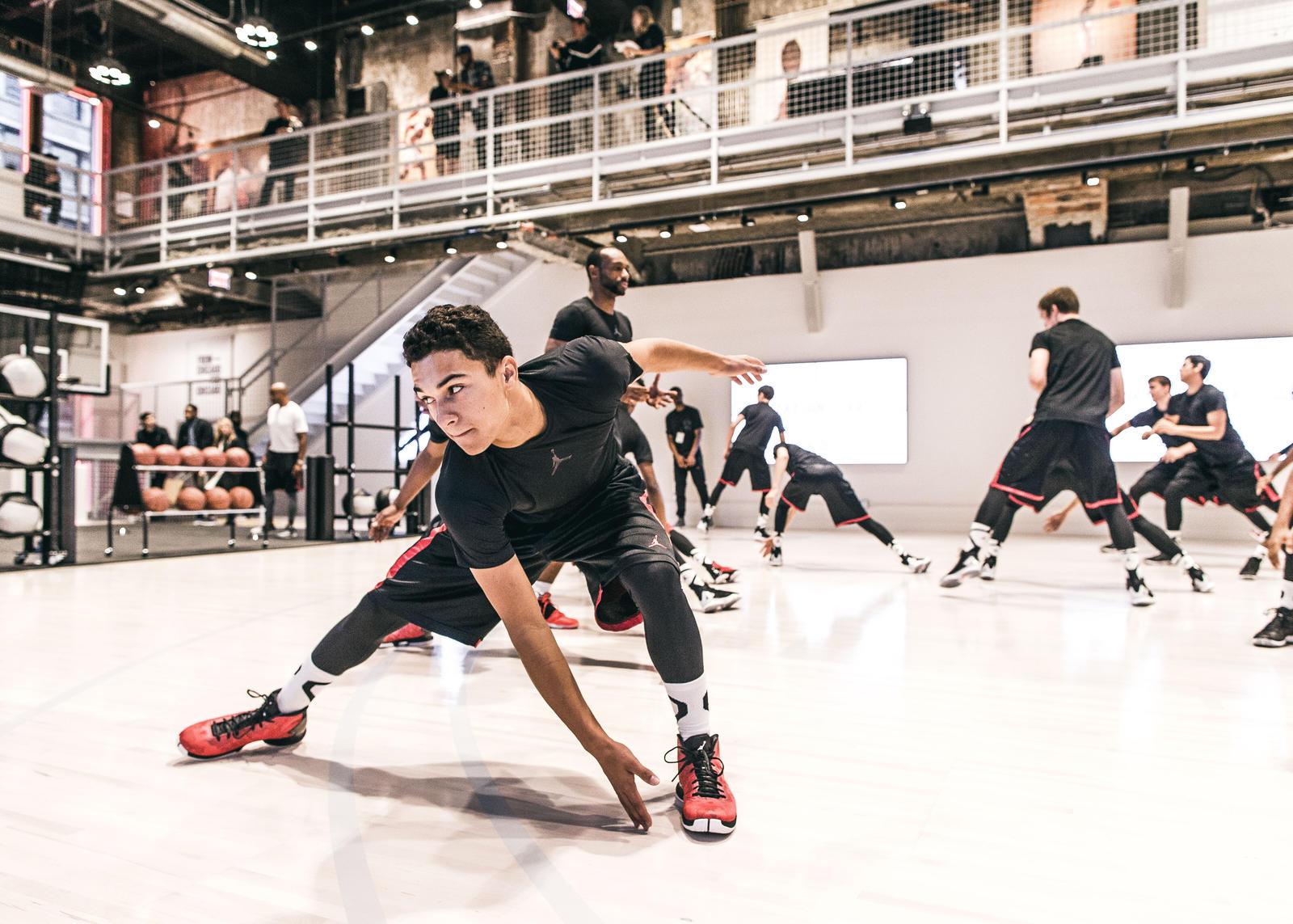 Jordan Training session at Station 23