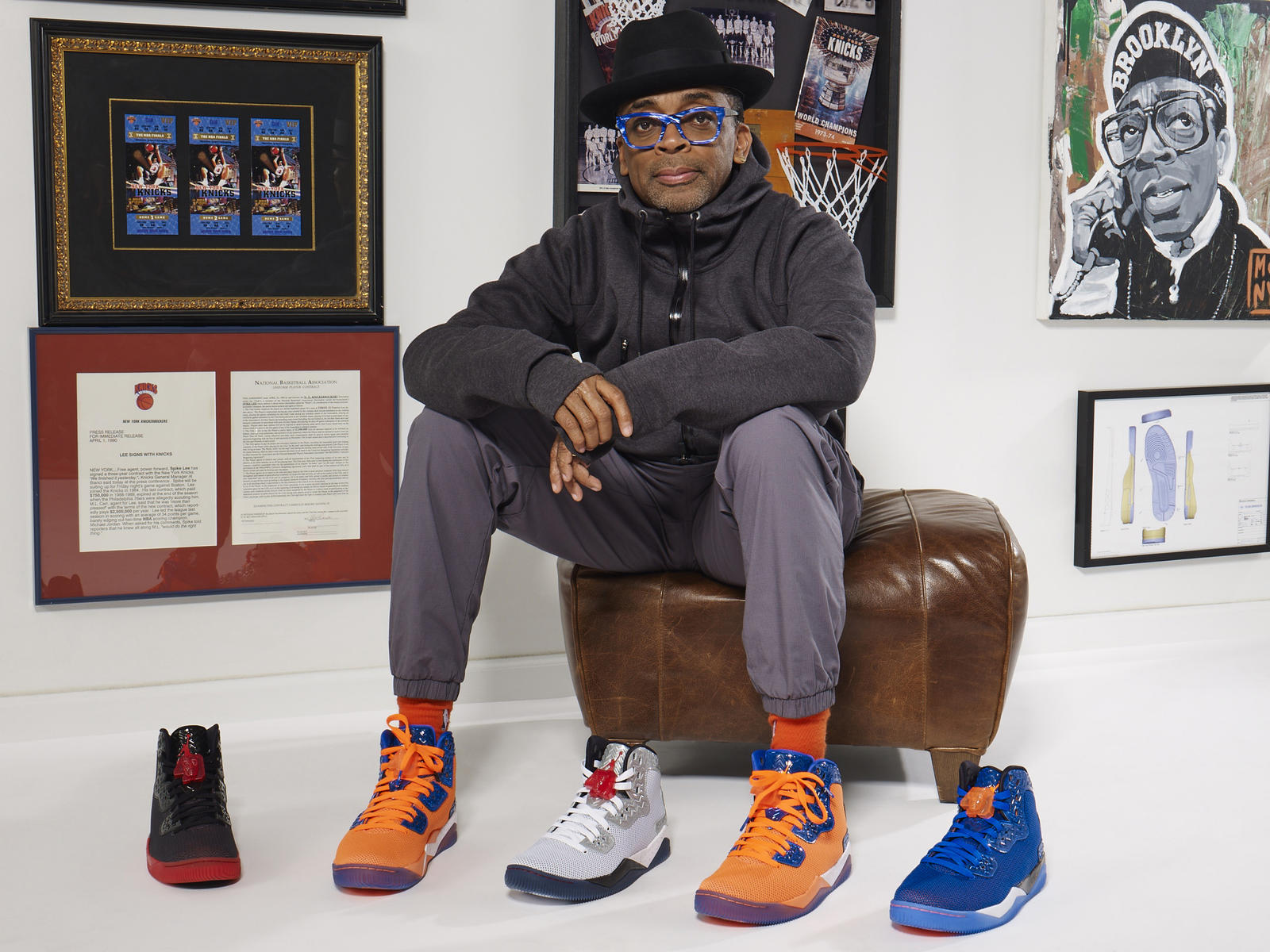 Spike Lee and the HO '15 Spike Forty colorways