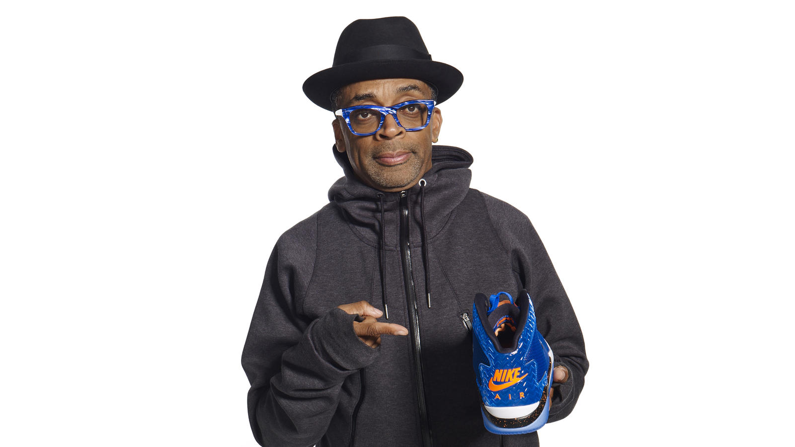 Spike Lee and a HO '15 Spike Forty colorway