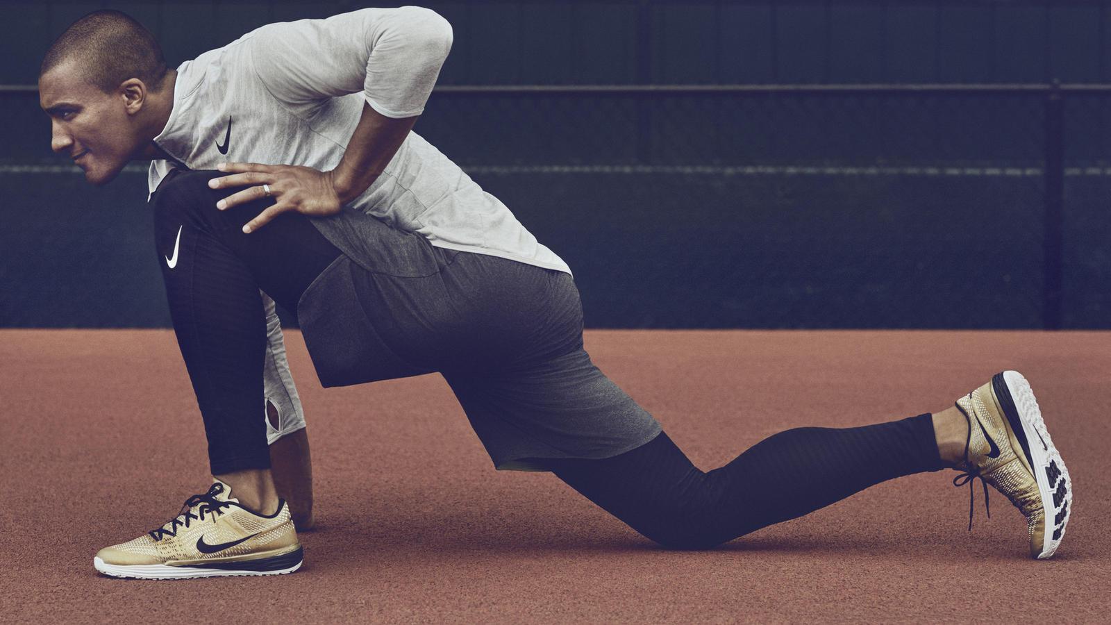 Limited-Edition Gold Nike Lunar Caldra