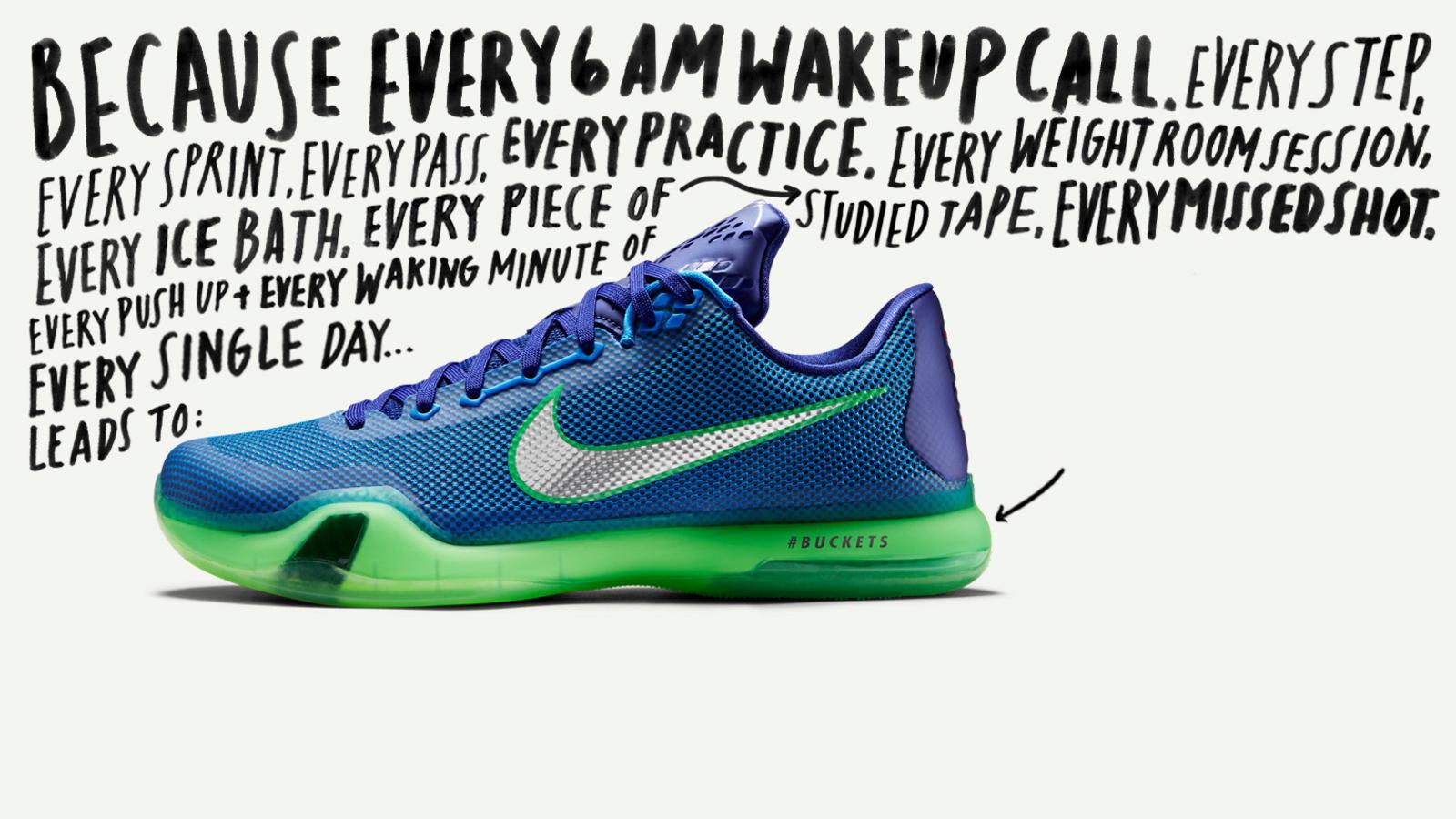 Nike PiD Kobe X
