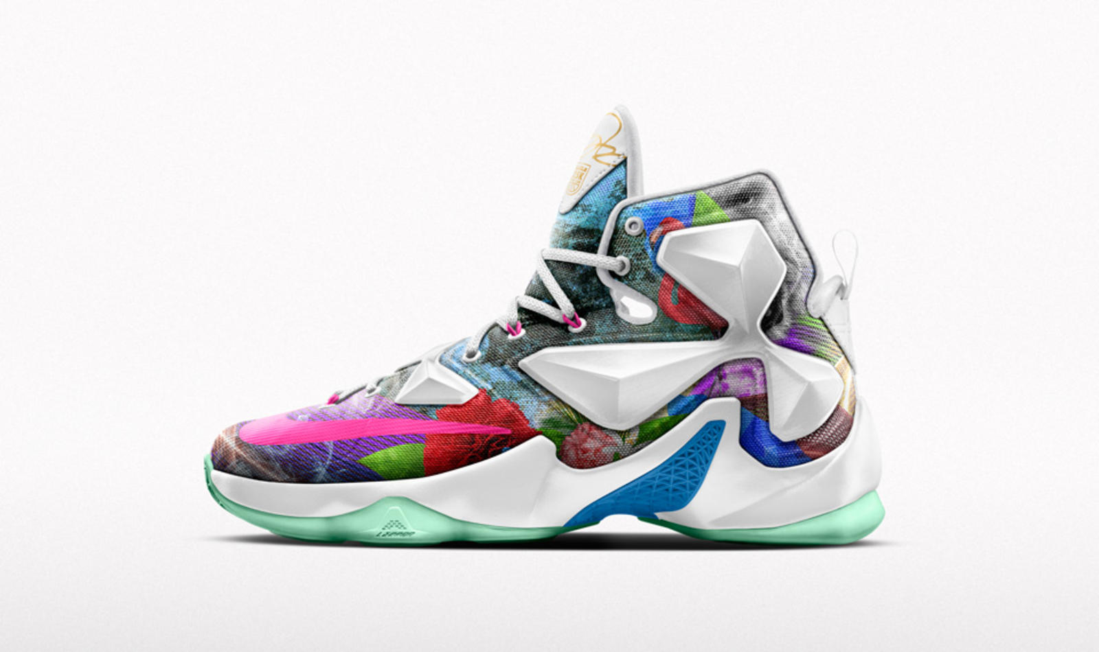 HO15 NikeiD Lebron 13 Multi Social Post 960x570. Nike Basketball celebrates LeBron  James ... e5324b4824