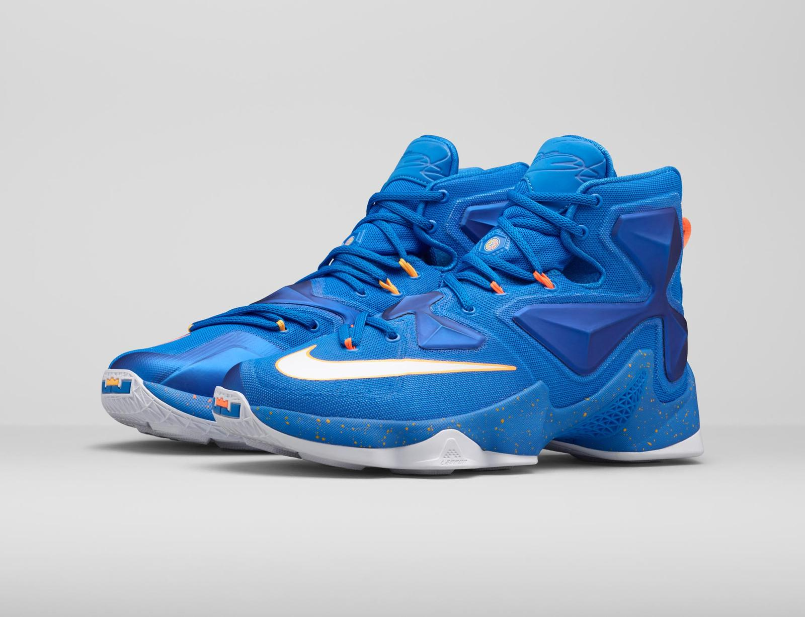 online retailer 46e14 5a1ee shop nike lebron 13 sky blue white silverair basketball basketball shoes  for salereliable 9140f f7a1c  where can i buy introducing the lebron 13  balance ...