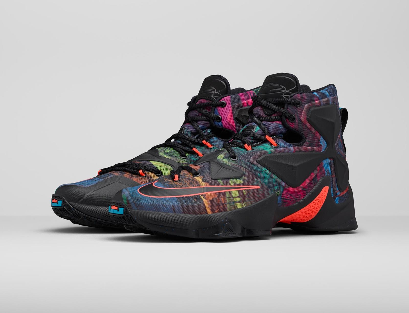 detailed look 50fb6 2ecc3 Facebook807219008E. The LEBRON 13 Akronite ...
