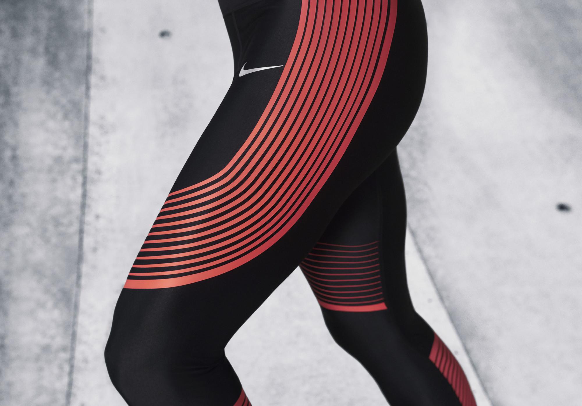 très bon marché jeu confortable Nike Chaussures Leggings Course Rouge Et Noir large éventail de débouché réel ybidr