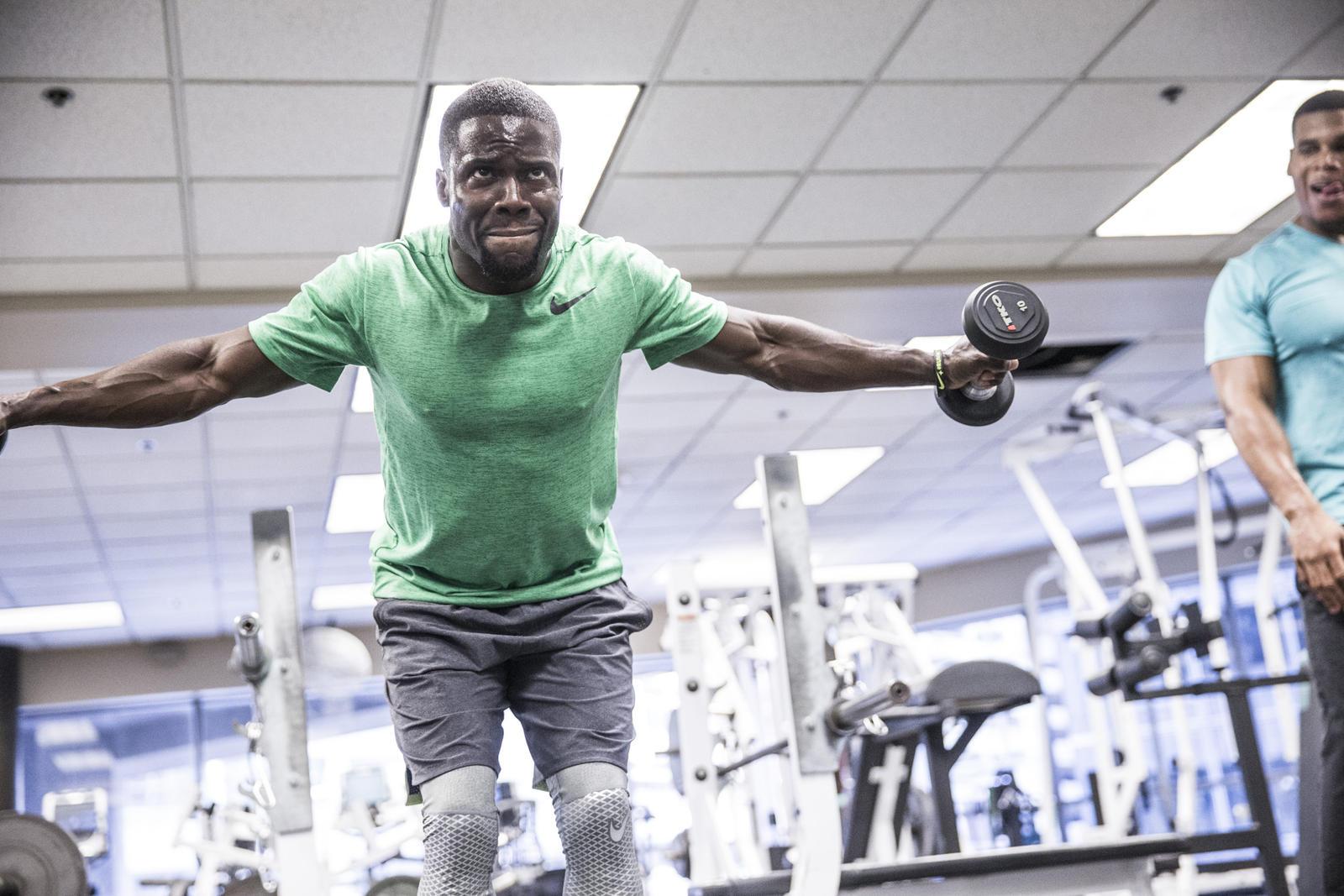 inner strength kevin hart�s training routine is no joke