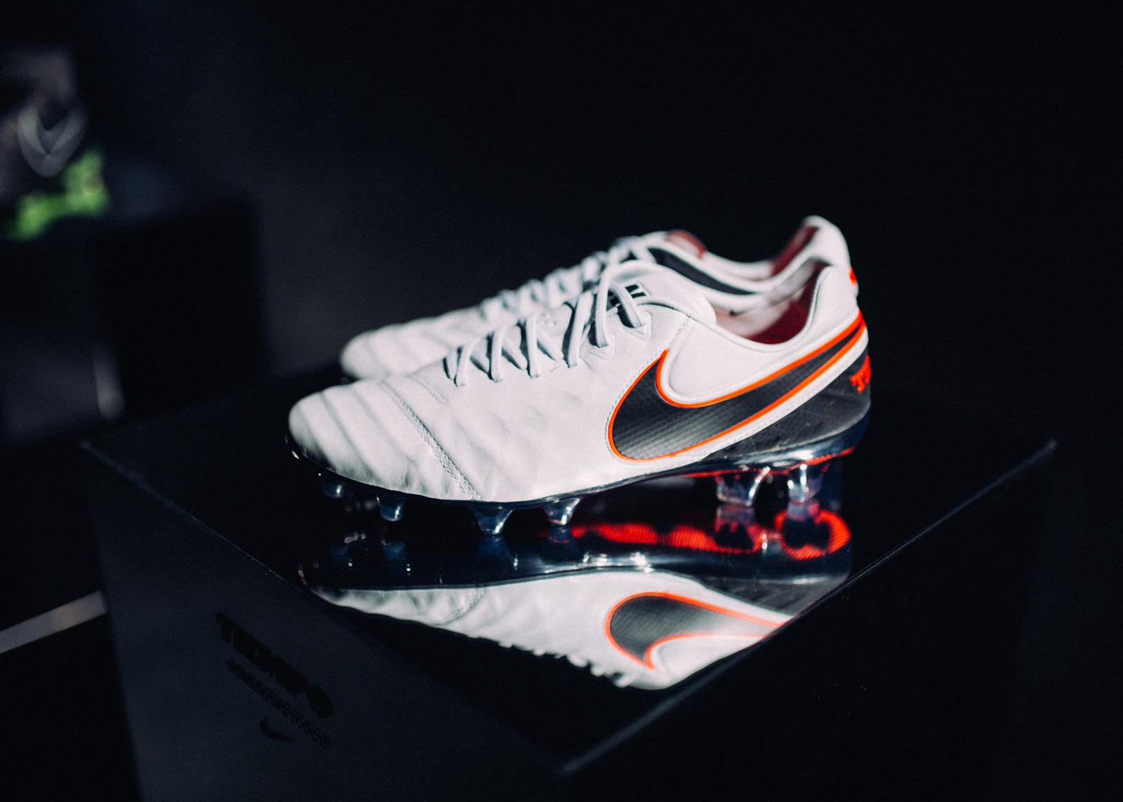 """the best attitude ae7b9 e4ffc ... as if made of metal — but comes to life in motion,"""" Nike Football Color  Lead Emma Jobe explains while describing Nike Footballs Liquid Chrome Pack."""