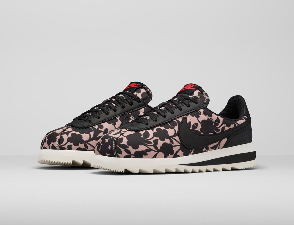 561c1abe9ec2 Contemporary Florals Energize New Liberty London x Nike Collection