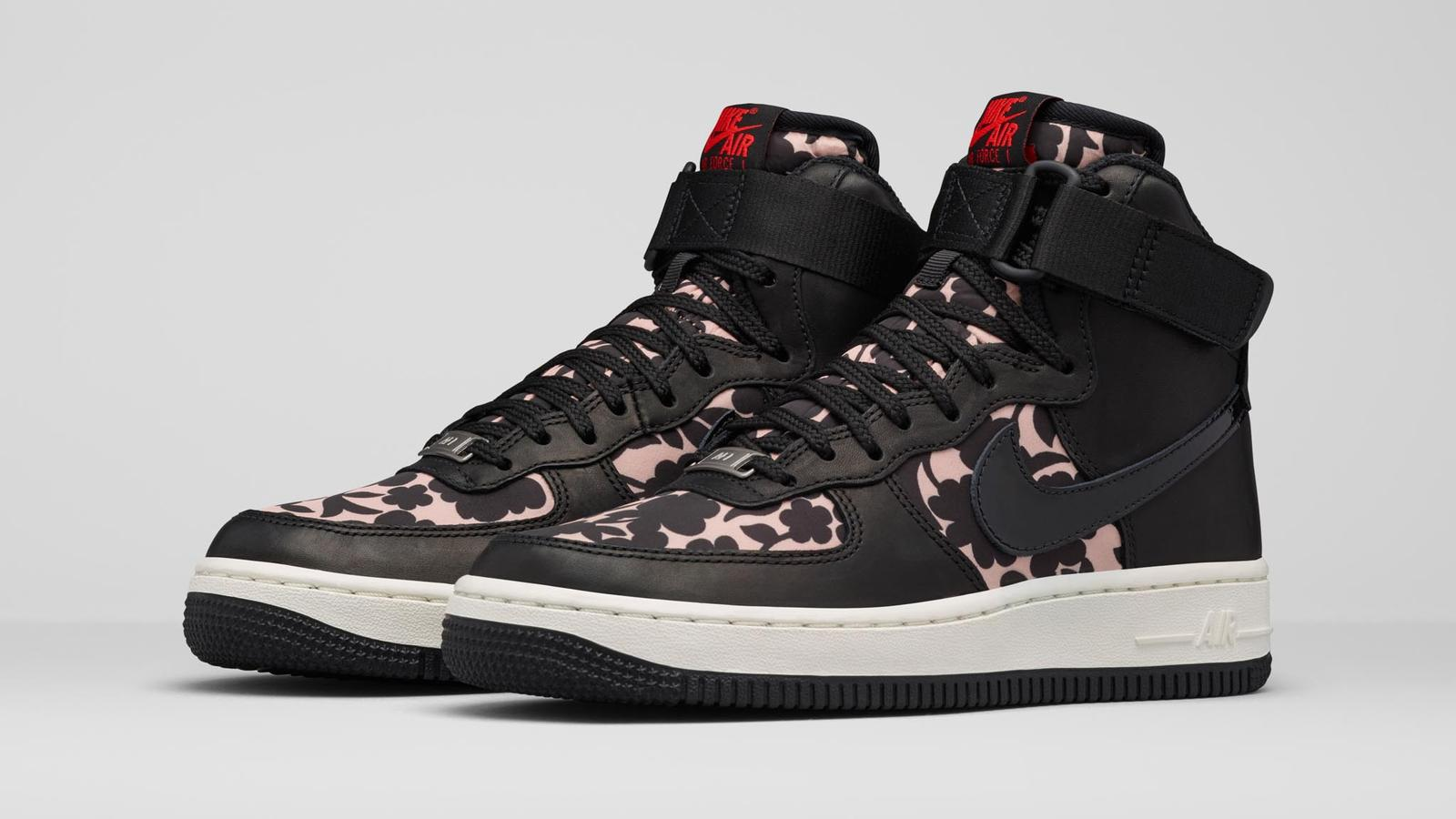 624e305474 Contemporary Florals Energize New Liberty London x Nike Collection ...
