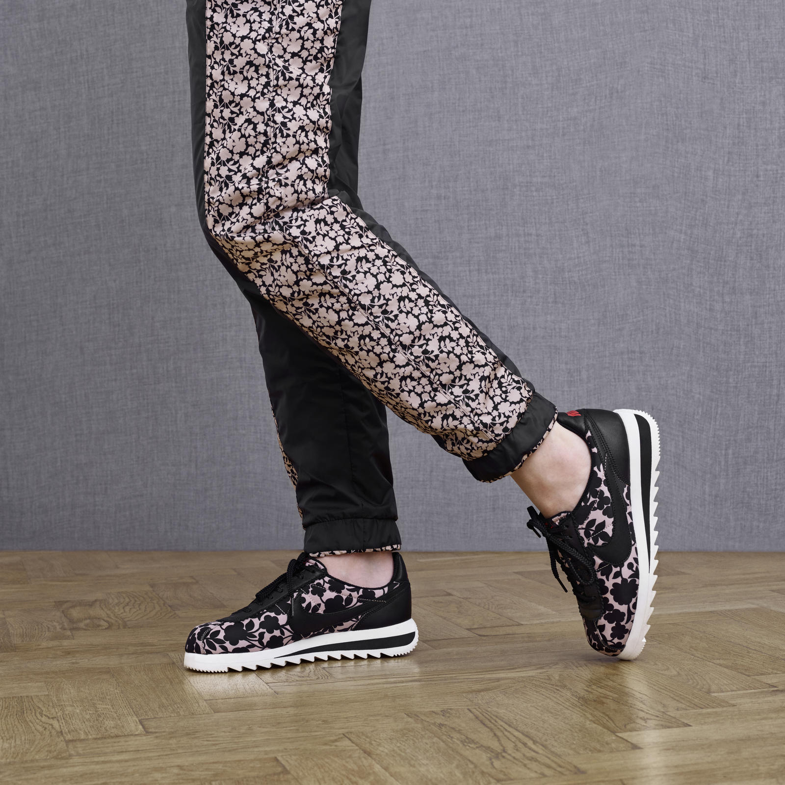 Contemporary Florals Energize New Liberty London x Nike