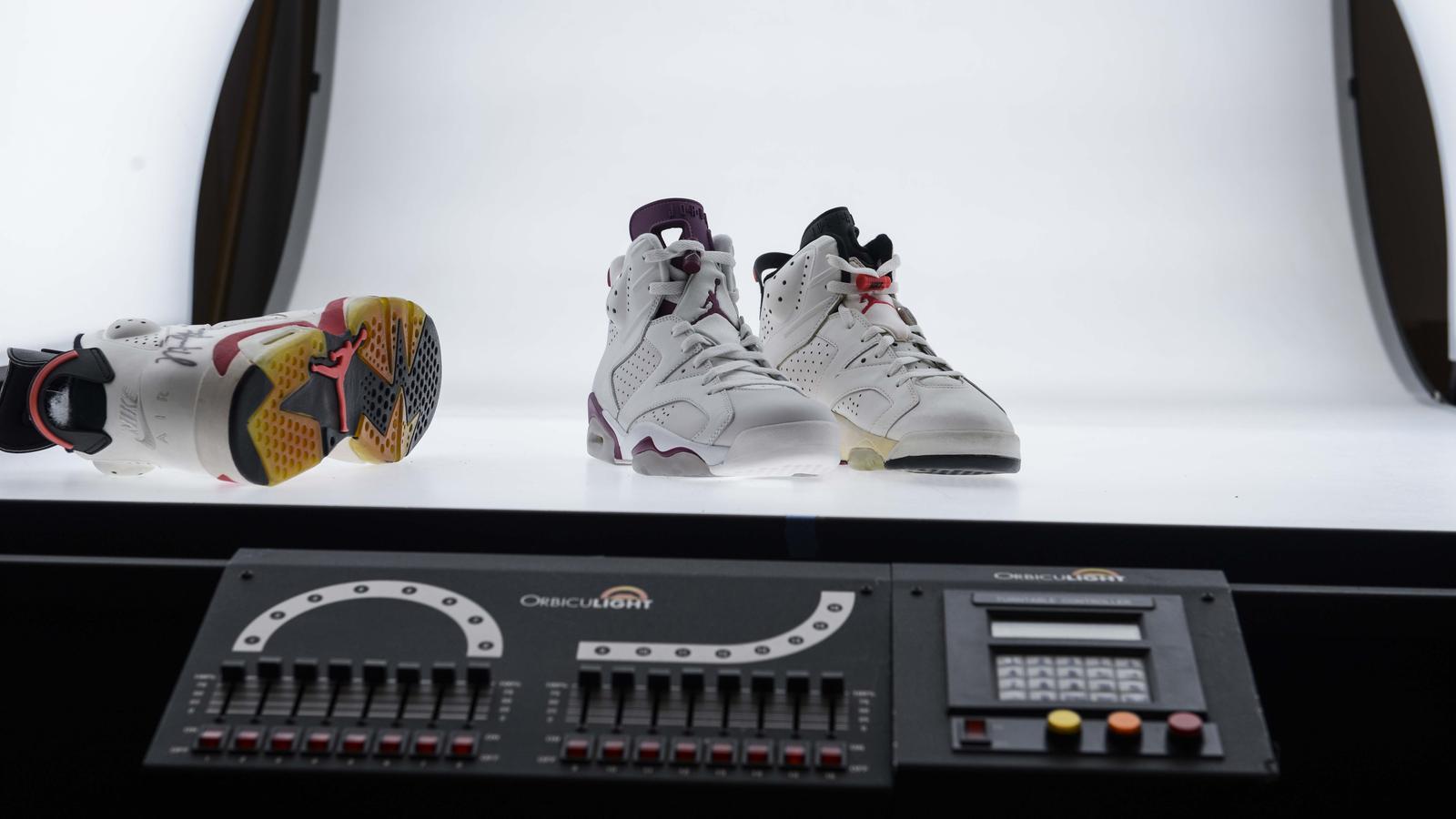"""Air Jordan VI """"Maroon"""" and Air Jordan VI OG footwear"""