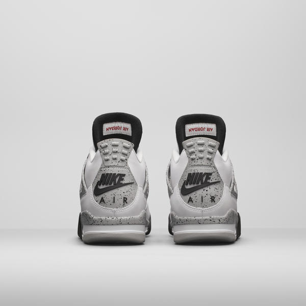 "Air Jordan IV ""White Cement"""
