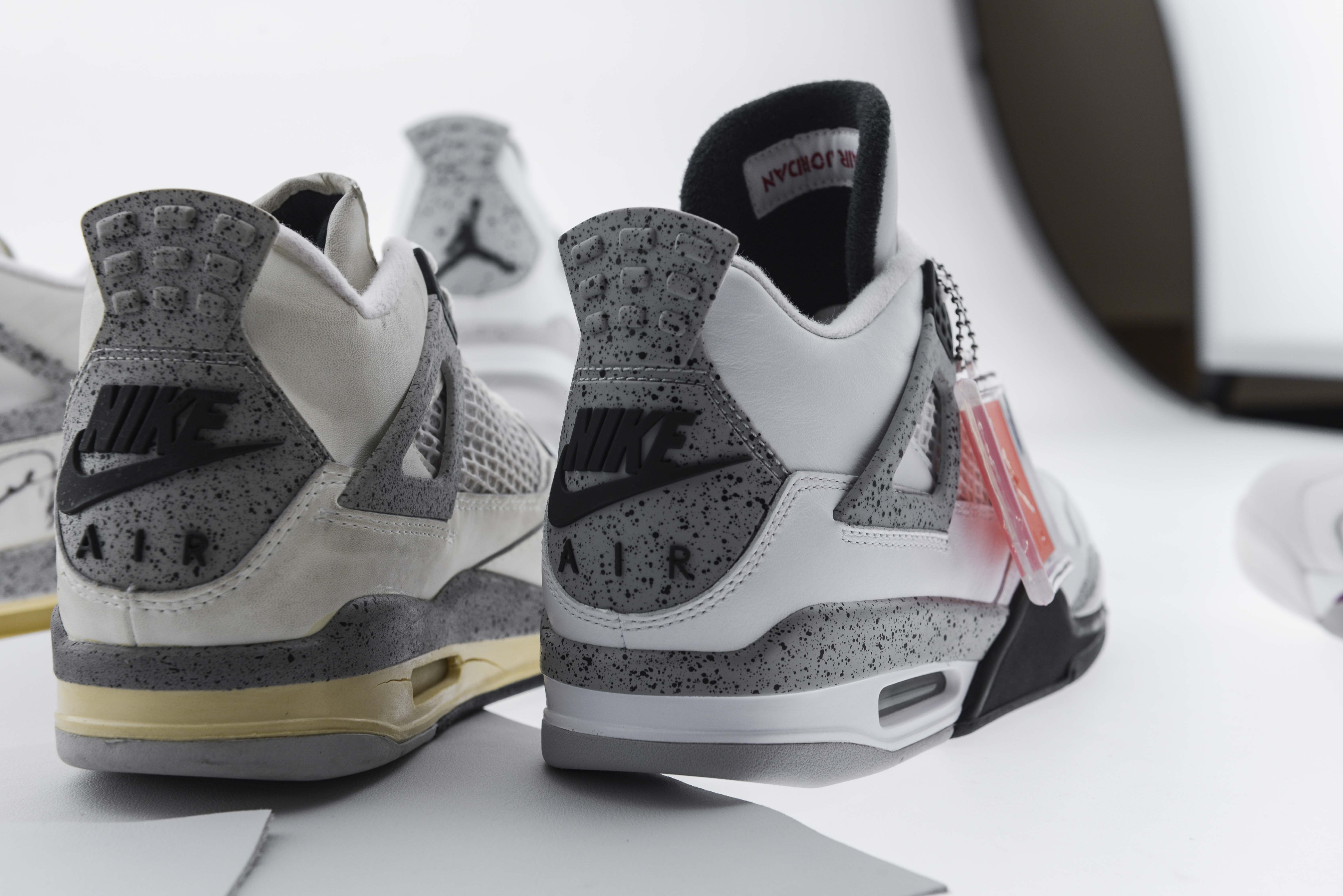 Air Jordan 4 Ciment Blanc De 2015 Chevy Finishline sortie IkwEHzW3F