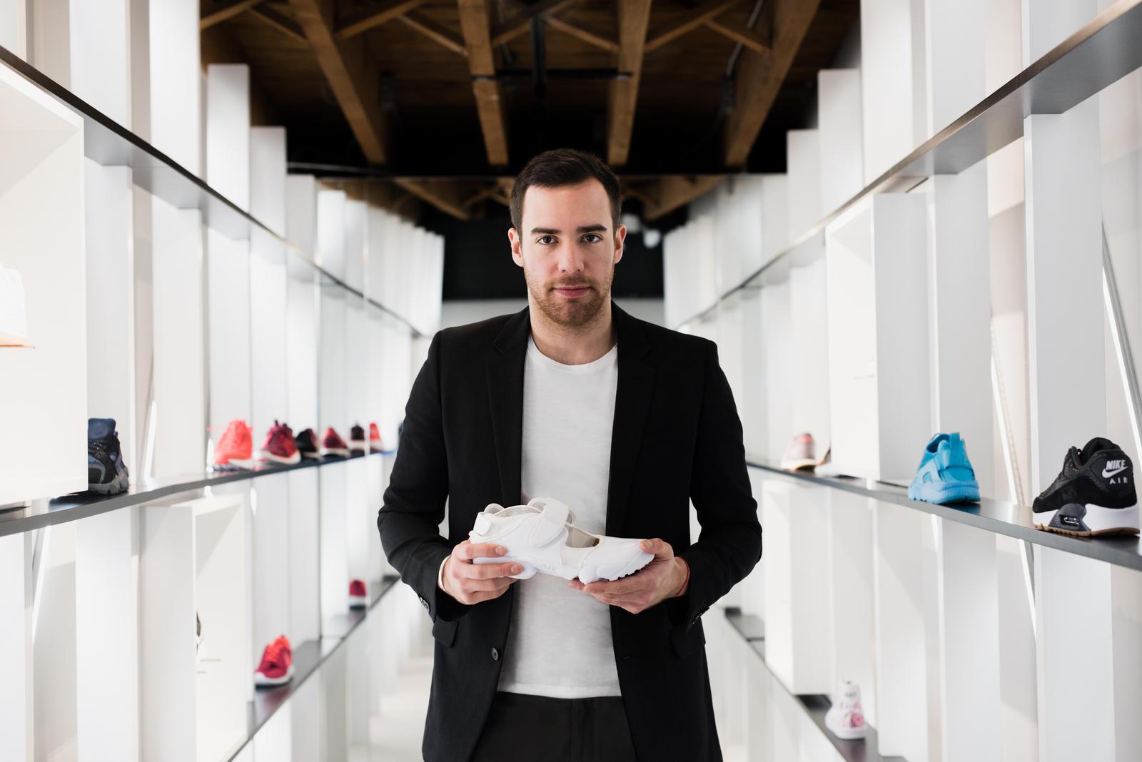 e970afcf784eb A Celebratory Shoe  The NikeLab Air Rift x Pedro Lourenço - Nike News